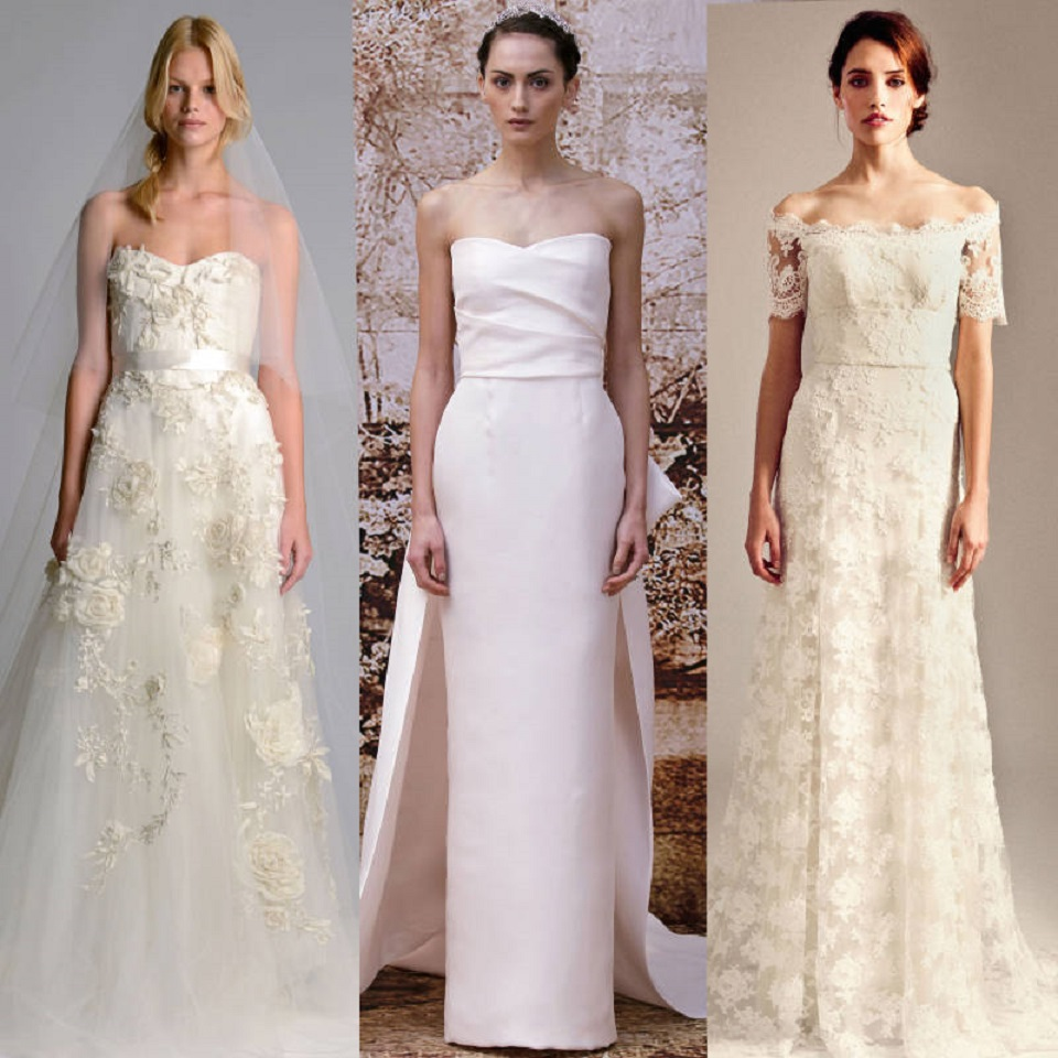 http://www.harpersbazaar.com/fashion/fashion-week/best-wedding-dresses-fall-2014  Top Fashion Designers Wedding Dresses' for 2014 hbz bridal ss14 tN4VjE promo mdn