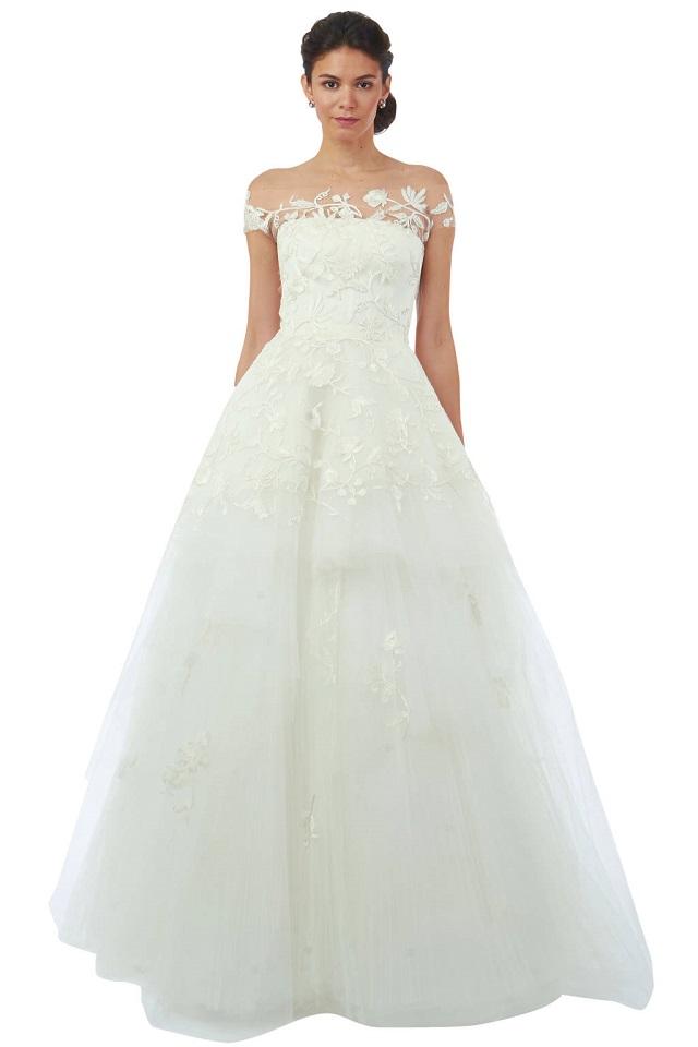 mydesignweek_oscar de la renta_weddingdress 2014_1  Top Fashion Designers Wedding Dresses' for 2014 mydesignweek oscar de la renta weddingdress 2014 1
