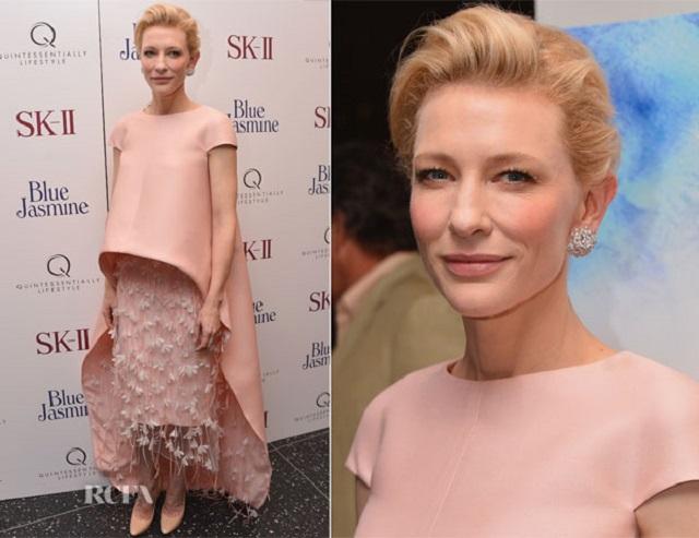 Cate Blanchett | Best Dressed Celebrities of 2013  Best Dressed Celebrities of 2013 Cate Blanchett In Balenciaga best dressed celebrities 2013 mydesignweek
