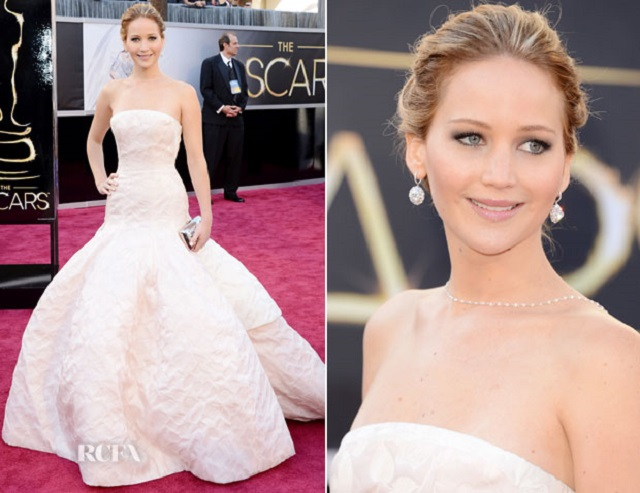Jennifer Lawrence | Best Dressed Celebrities of 2013  Best Dressed Celebrities of 2013 Jennifer Lawrence oscars best dressed celebrities 2013 mydesignweek