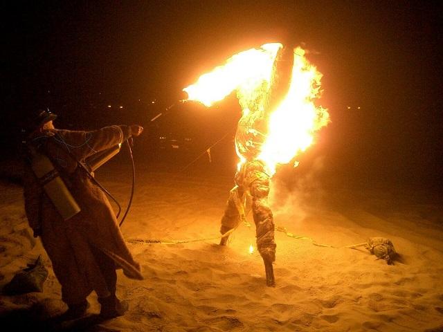 Burn away the past | New Year's Traditions around the World   New Year's Eve Traditions around the World burn away the past new years eve traditions around the world mydesignweek