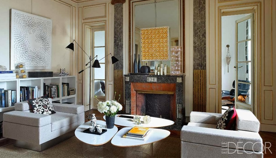 Living in Style: the Paris apartment of Philippe Rapin and Sylvie de Chirée