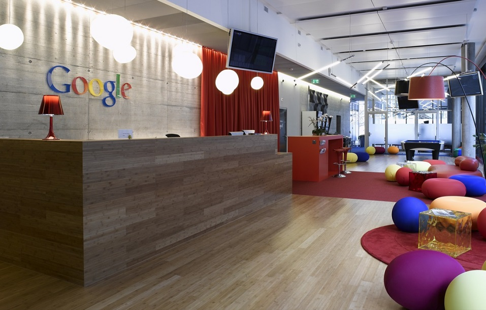 The Google Office  Most Popular article of 2014: The Google Office in Amsterdam The Google Office in Amsterdam mydesignweek1