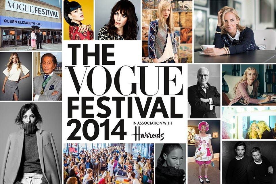 Vogue Festival 2014 preview  Vogue Festival 2014 preview Vogue Festival 2014 preview mydesignweek2