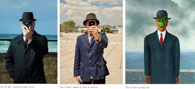 """""""Son of Man"""" by Magritte 