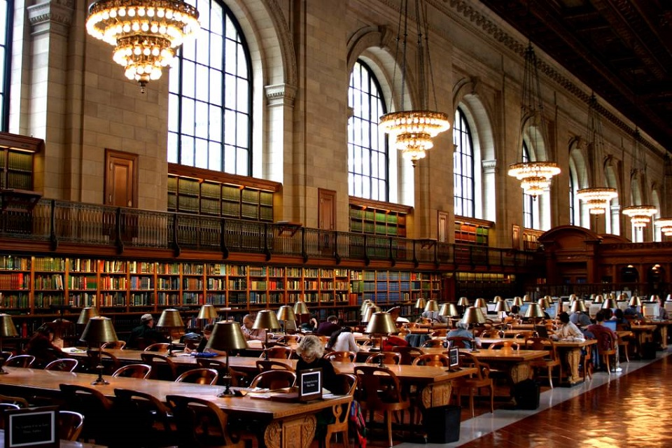 The 'Secret´ Libraries of New York City  The 'Secret´ Libraries of New York City new york library The Secret   Libraries of New York City mydesignweek