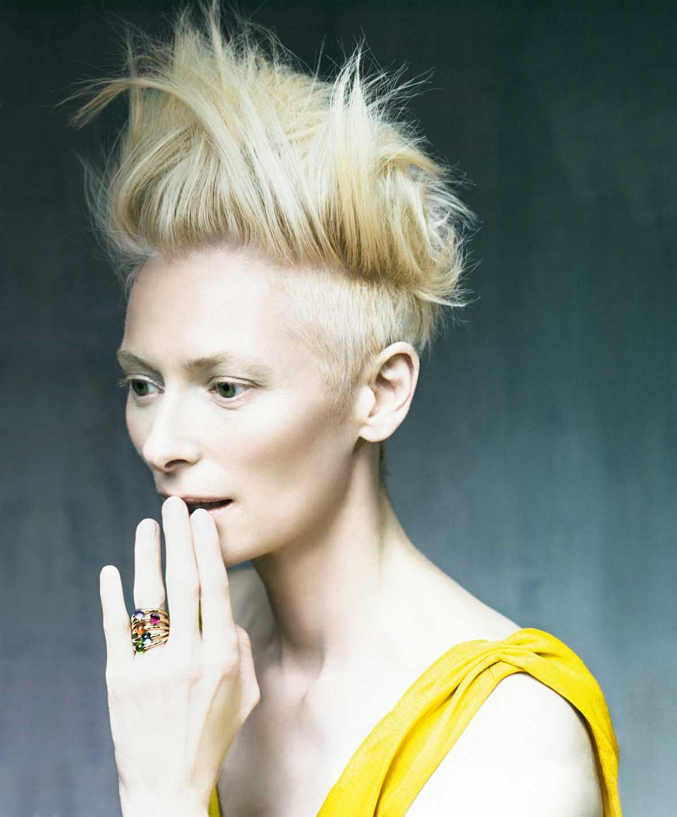 Tilda Swinton for Mercedes-Benz