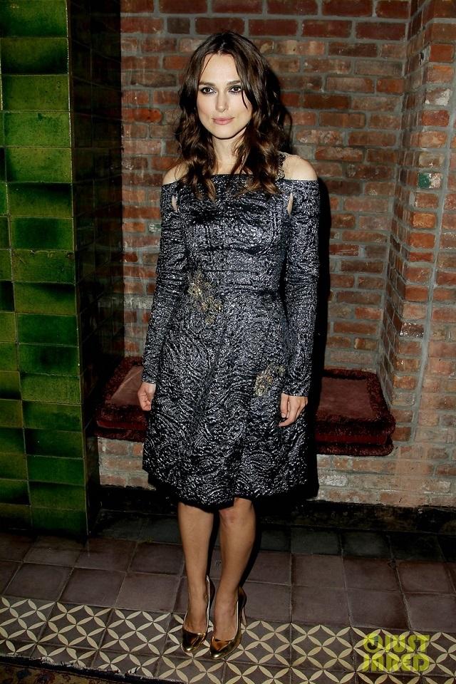 Keira Knightley wearing Erdem  MDW celebrity style report: Keira Knightley Keira Knightley Erdem celebrity style