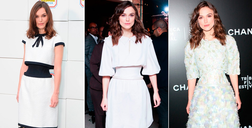 Keira Knightley wearing Channe