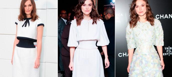 Keira Knightley wearing Channe