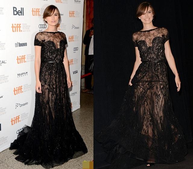 Keira Knightley wearing Elie Saab  MDW celebrity style report: Keira Knightley Keira Knightley elie saab celebrity style