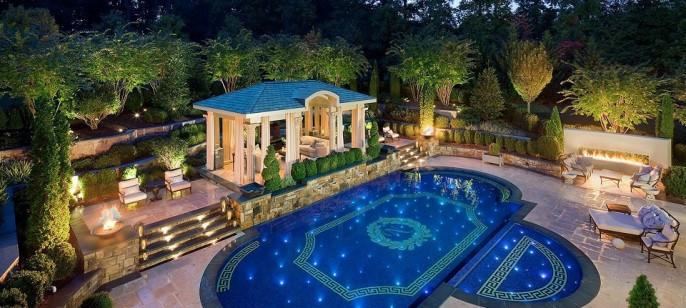7 Stunning Backyard Pool Design Ideas