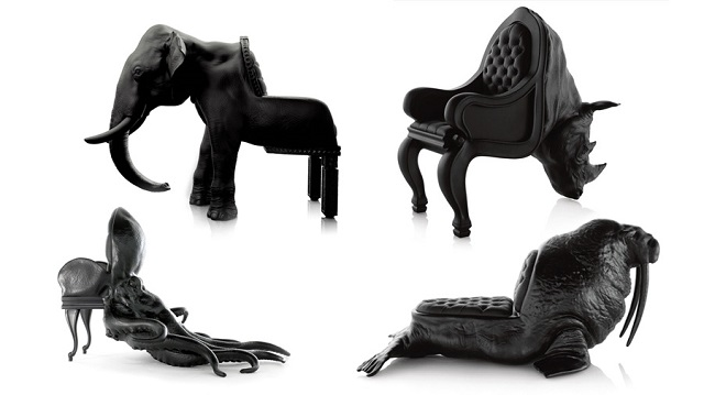 The Animal Chair Collection By Maximo Riera Chic Furniture Ideas Inspired  By Pop Art Pop