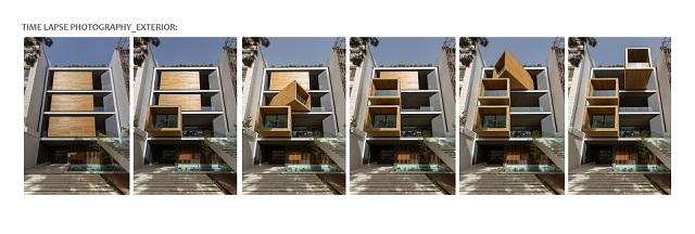 Architecture & Design: the Sharifi-Ha house in Tehran  Architecture & Design: the Sharifi-Ha house in Tehran Sharifi ha House arquiteture design exterior