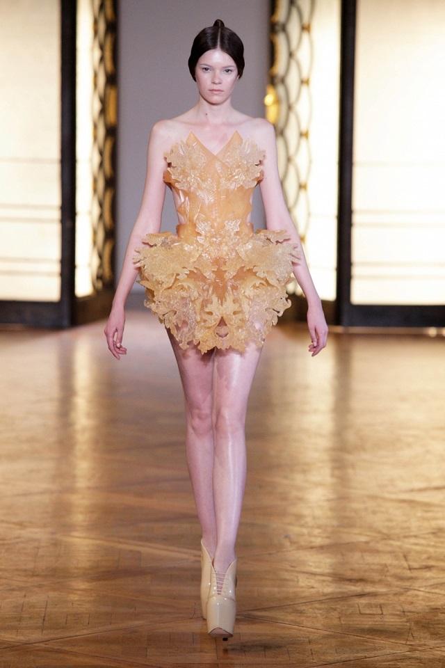 Hybrid Holism Haute Couture - July 2012, Paris Haute Couture Week | Iris van Herpen  Iris van Herpen Haute Couture  iris van herpen hybrid holism haute couture1