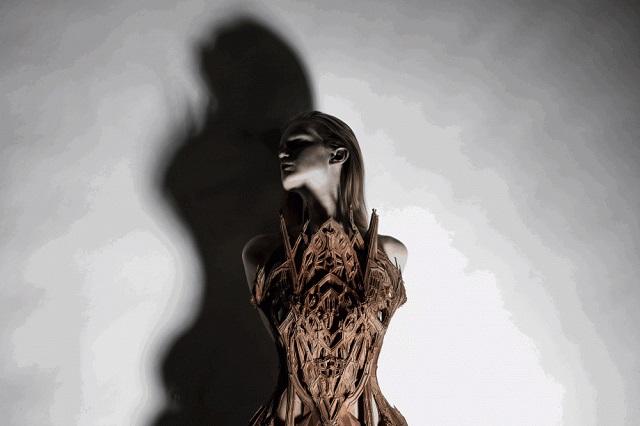 Micro Haute Couture -  January 2012, Paris Haute Couture Week | Iris van Herpen  Iris van Herpen Haute Couture  iris van herpen micro haute couture1