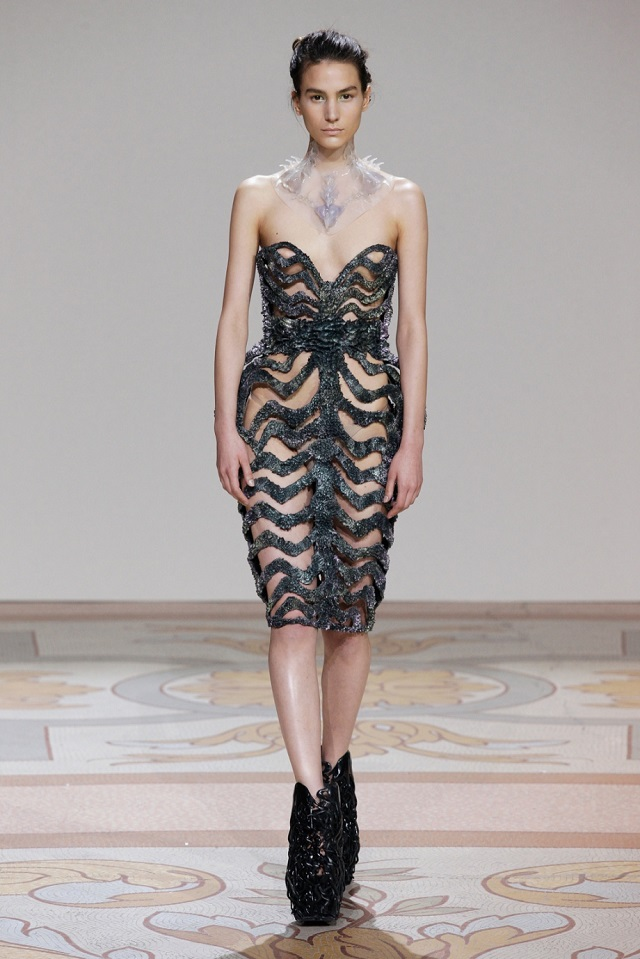 Wilderness Embodied Haute Couture - July 2013, Paris Haute Couture week | Iris van Herpen  Iris van Herpen Haute Couture  iris van herpen wilderness embodied haute couture