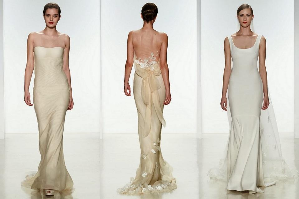 Spring 2015 Designer Wedding Dresses  Amsale bridal Spring 2015