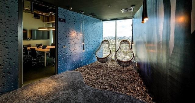 Inside the Google Office in Tel Aviv  Inside the Google Office in Tel Aviv Google Office Tel Aviv breakout3