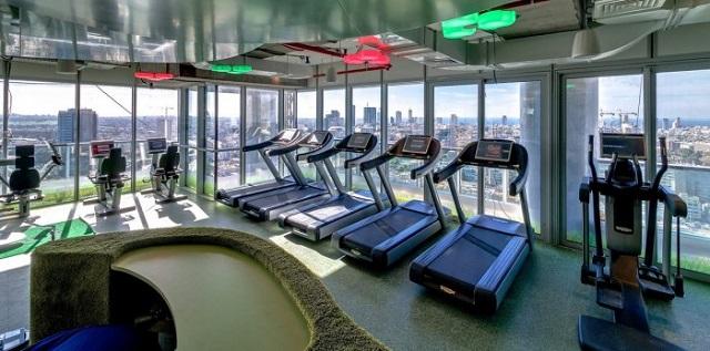 Inside the Google Office in Tel Aviv  Inside the Google Office in Tel Aviv Google Office Tel Aviv gym