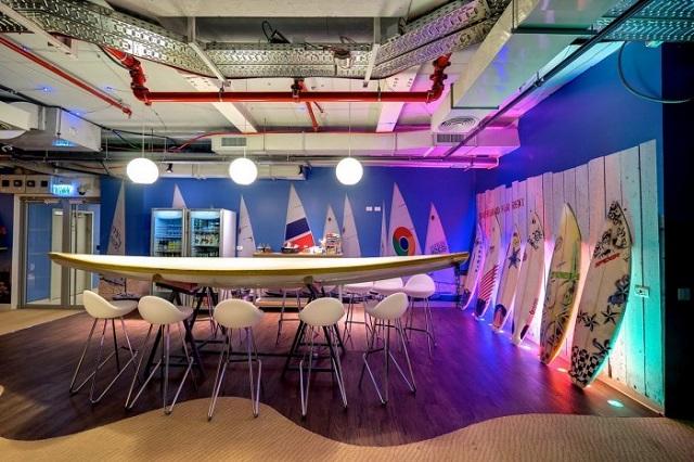 Inside the Google Office in Tel Aviv  Inside the Google Office in Tel Aviv Google Office Tel Aviv meeting5