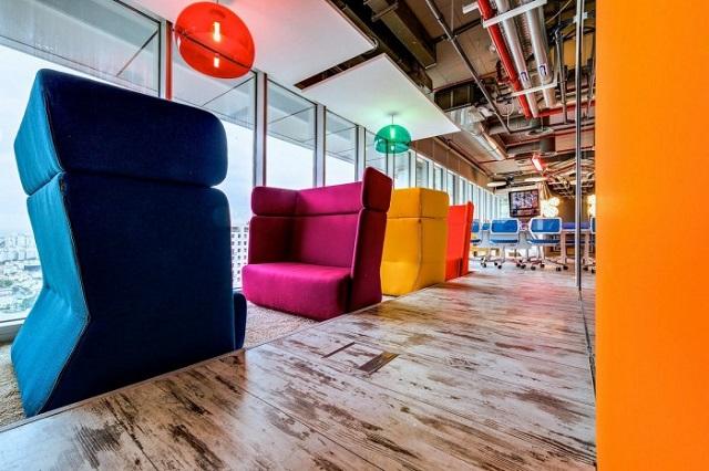 Inside the Google Office in Tel Aviv  Inside the Google Office in Tel Aviv Google Office Tel Aviv work lounge