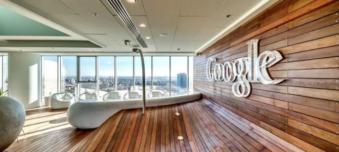 Inside the Google Office in Tel Aviv