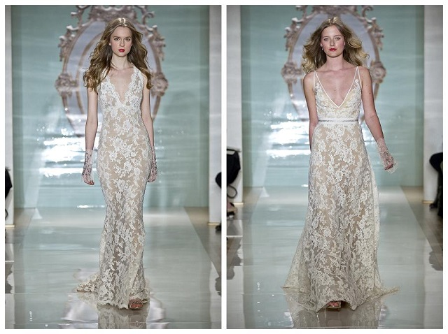 Reem Acra Bridal Spring 2015  Spring 2015 Designer Wedding Dresses  Reem Acra bridal Spring 2015