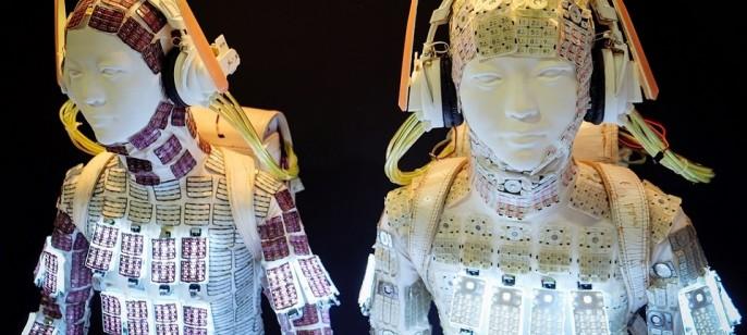 """Noriko Yamaguchi's """"Keitai Girl Suit"""