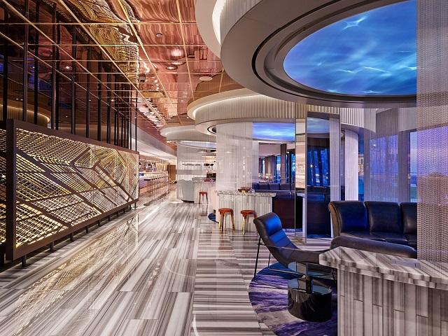 Meyer Davis Studio with W Chicago Lakeshore (Hospitality: Domestic Hotel)  Best of 2014: Interior Design Projects Meyer Davis Studio WChicago Lakeshore Best of 2014 Interior Design Projects
