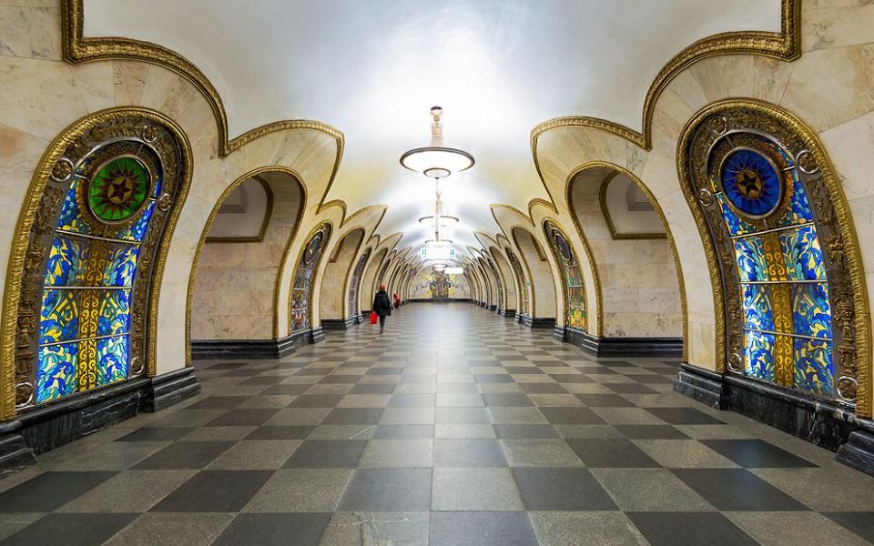 Top 10 most beautiful metro station galleries Moscow most beautiful subway station galleries