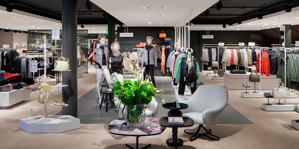 Best Retail Space Design Projects 2014  Best Retail Space Design Projects 2014 PKZ Women flagship Schweitzer Group Zurich Best Retail Space Design Projects 2014