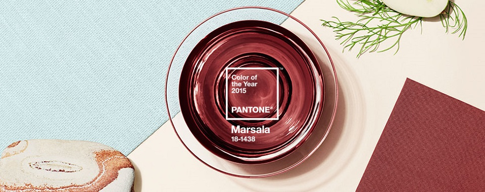 2015 Pantone Color of the Year: Marsala  2015 Pantone Color of the Year: Marsala Pantone Introducing Color of the Year Marsala banner