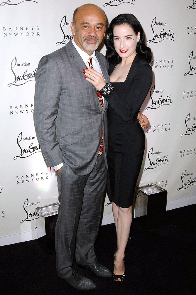 Dita Von Teese and Christian Louboutin's Lingerie Line