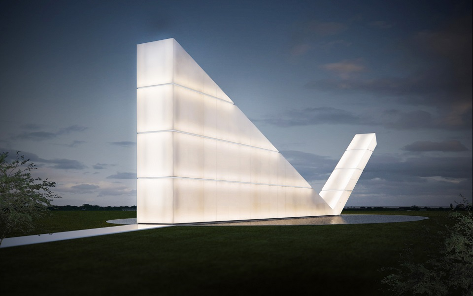 Most Ingenious Architectural Works of 2014  5 Most Ingenious Architectural Works of 2014 Freedom of the Press monument Gustavo Penna Most Ingenious Architectural Works 2014