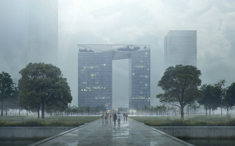 smart skyscrapers Take A Look At These Smart Skyscrapers Developed By Al Space Factory AI SpaceFactory Places Wuxi CiticPlaza