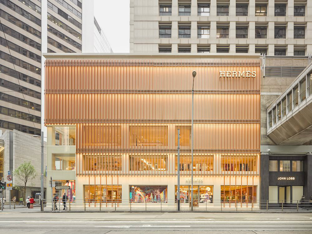 Explore The Design Project Of The New Hermes Store In Hong Kong