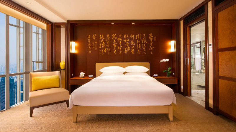 salone del mobile Top Hotels to Stay in During Salone del Mobile.Milano Shanghai Grand Hyatt Shanghai 1