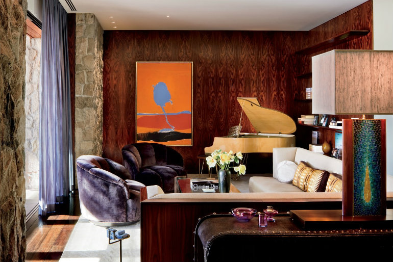 Celebrity Homes: 6 Luxury Living Rooms