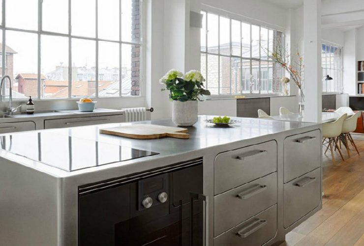 vintage industrial style Inside A Vintage Industrial Style Kitchen Inside A Vintage Industrial Style Kitchen 740x500