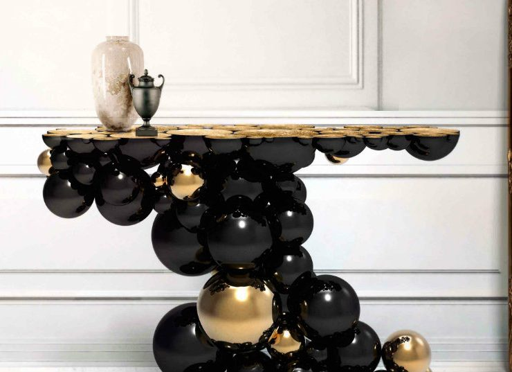 kelly wearstler Amazing Console Tables Used By Kelly Wearstler In Her Projects Amazing Console Tables Used By Kelly Wearstler In Their Projects 740x537