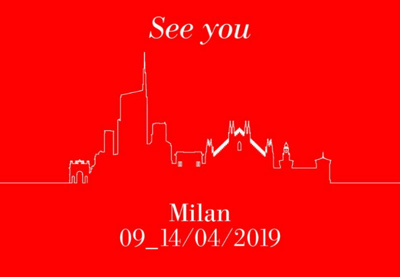isaloni Presenting The Guide For ISaloni & Milan Design Week 2019 Presenting The Guide For ISaloni Milan Design Week 2019 2 1