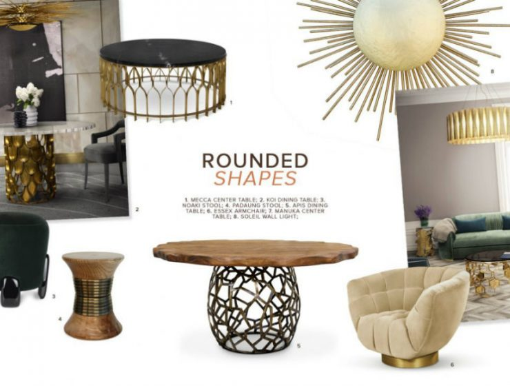 rounded shapes How To Use Rounded Shapes In A Luxury Décor  How To Use Rounded Shapes In A Luxury D  cor 1  740x560