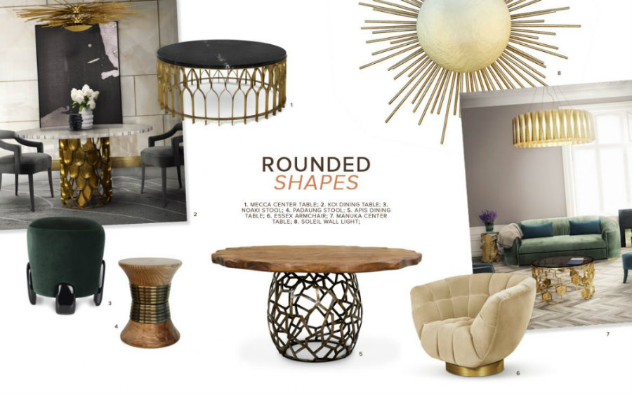 How To Use Rounded Shapes In A Luxury Décor