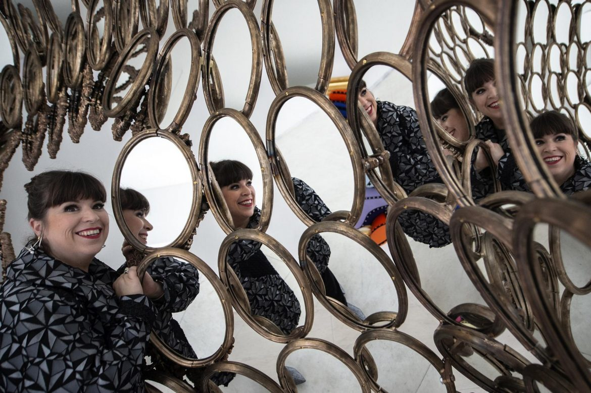 I'm Your Mirror By Joana Vasconcelos At Serralves Foundation