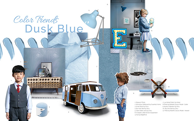 Interior Design Inspiration: Get Ready For Summer With Dusk Blue