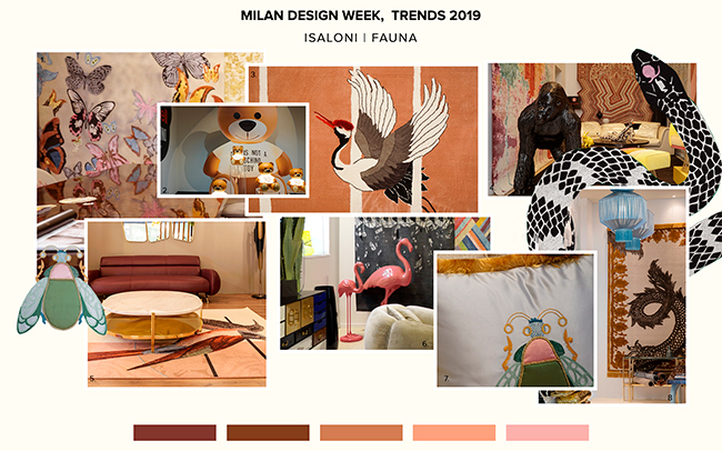 Salone Del Mobile Design Trends: Fauna Patterns  fauna patterns Salone Del Mobile Design Trends: Fauna Patterns  Salone Del Mobile Design Trends Fauna Patterns 1