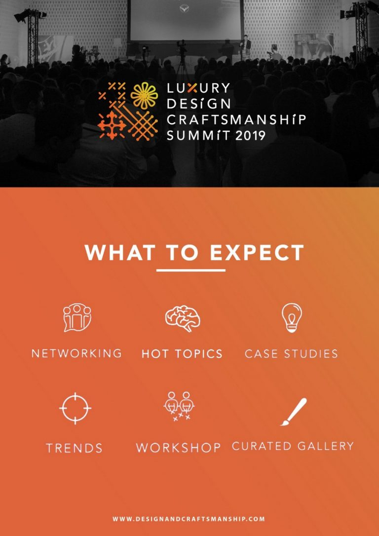 Celebrate Design With The Luxury Design & Craftsmanship Summit 2019 summit 2019 Celebrate Design With The Luxury Design & Craftsmanship Summit 2019 Celebrate Design With The Luxury Design Craftsmanship Summit 2019 2