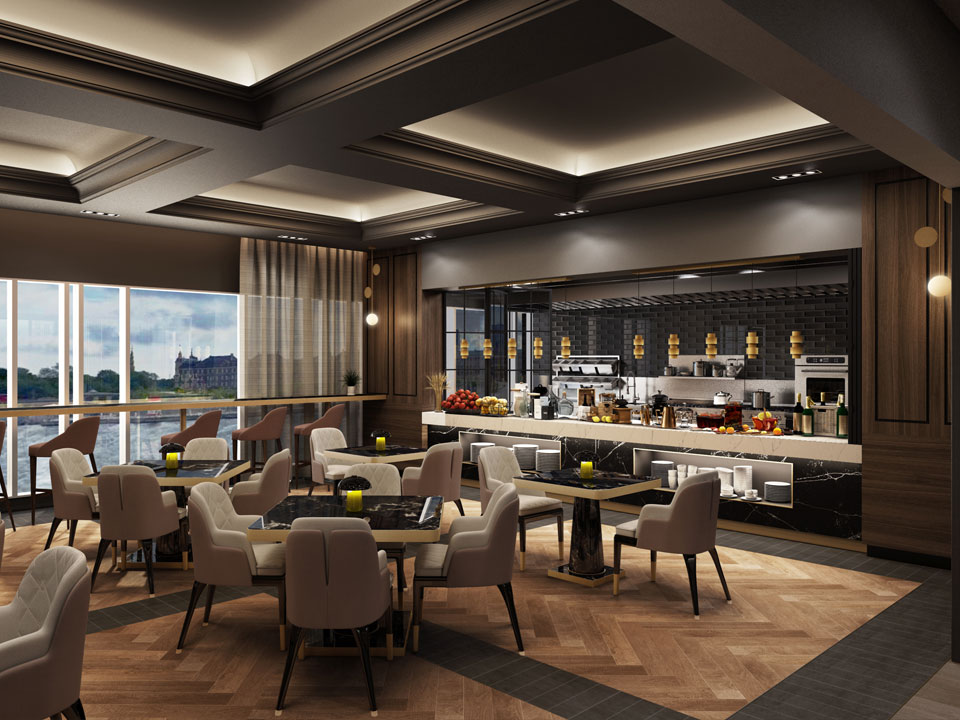 Living Design: Luxury Design At Marriott Copenhagen Hotel