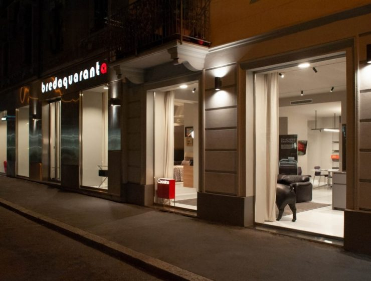 bredaquaranta's showroom The Design Trends Of Bredaquaranta's ShowroomIn Milan The Design Trends Of Bredaquarantas Showroom In Milan 1 740x560